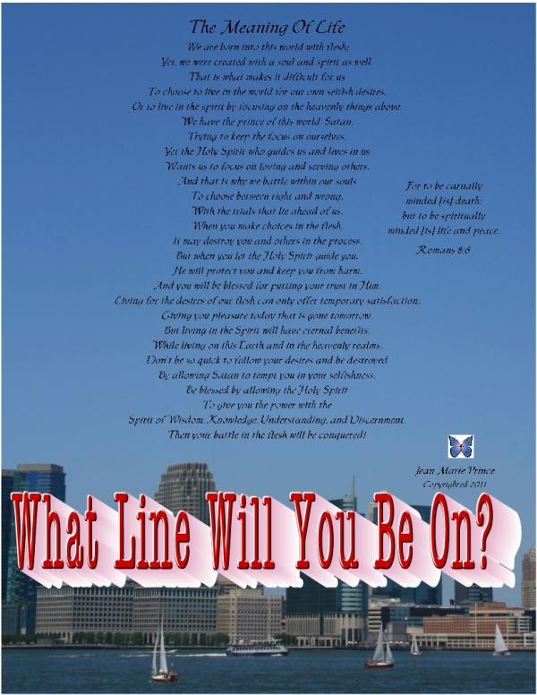 TheMeaningofLifeWhat line